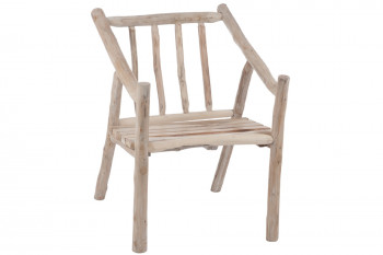 CHAISE EN BOIS NATUREL (lot de 2) - AUPURE