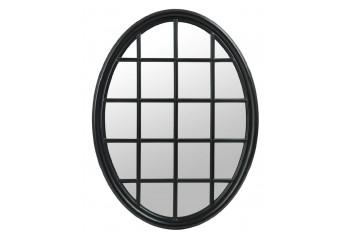 Grand Miroir ovale impression fenêtre
