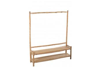 Vestiaire d'entrée en bois flotté NOE