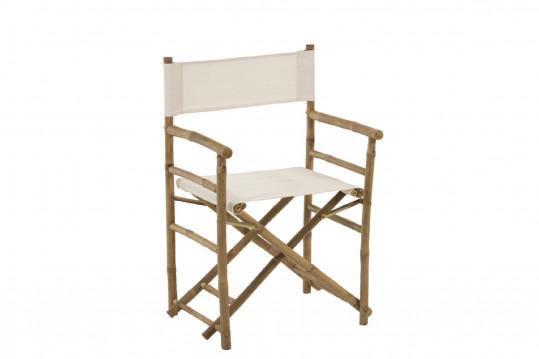 Lot de 2 chaises en bambou OIA