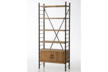 Bibliothèque modulable 2 portes - Alane I