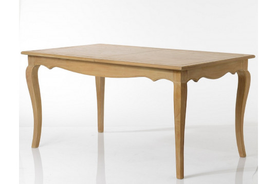 Table extensible en bois finition chêne - SONGE