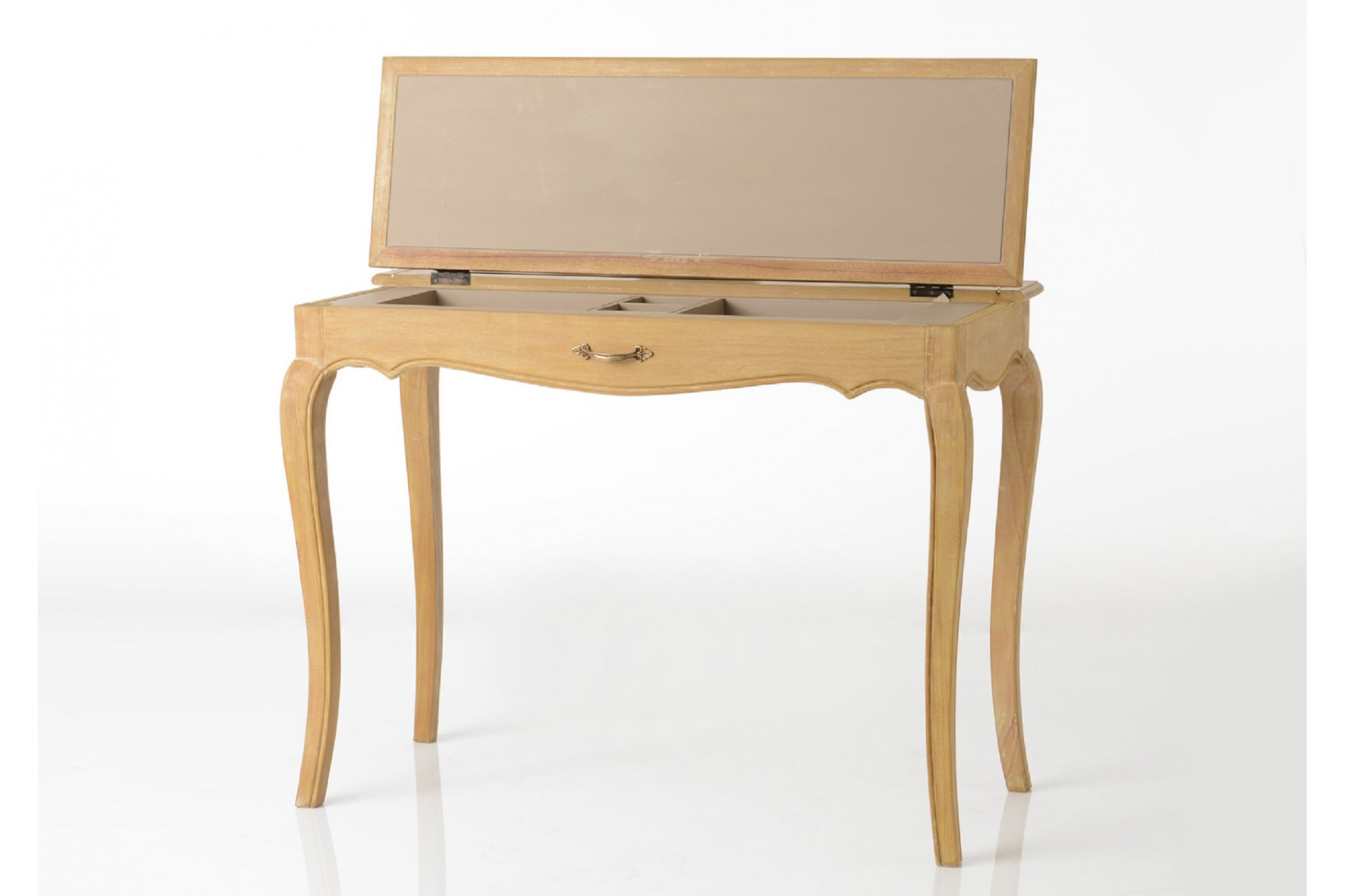 Bureau simple en bois hellin