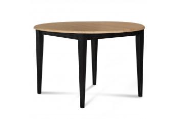 TABLE RONDE EN BOIS MASSIF - 90 CM - PIEDS FUSEAU - VICTORIA