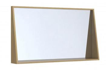 Miroir de salle de bain en bois L120 - NAPOLI / CORK