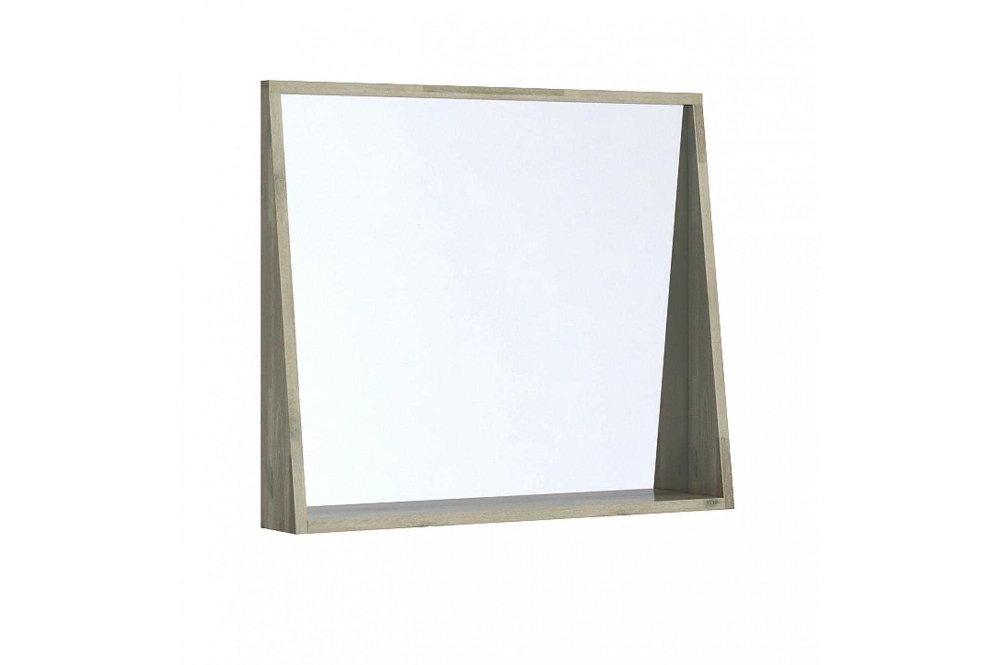 Miroir Salle De Bain 120 Cm miroir de salle de bain en bois massif de 80 cm - hellin