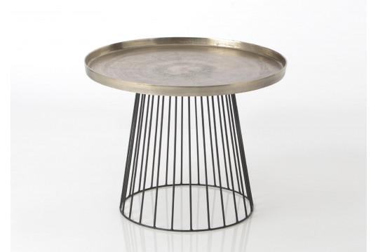 Petite table basse Alu