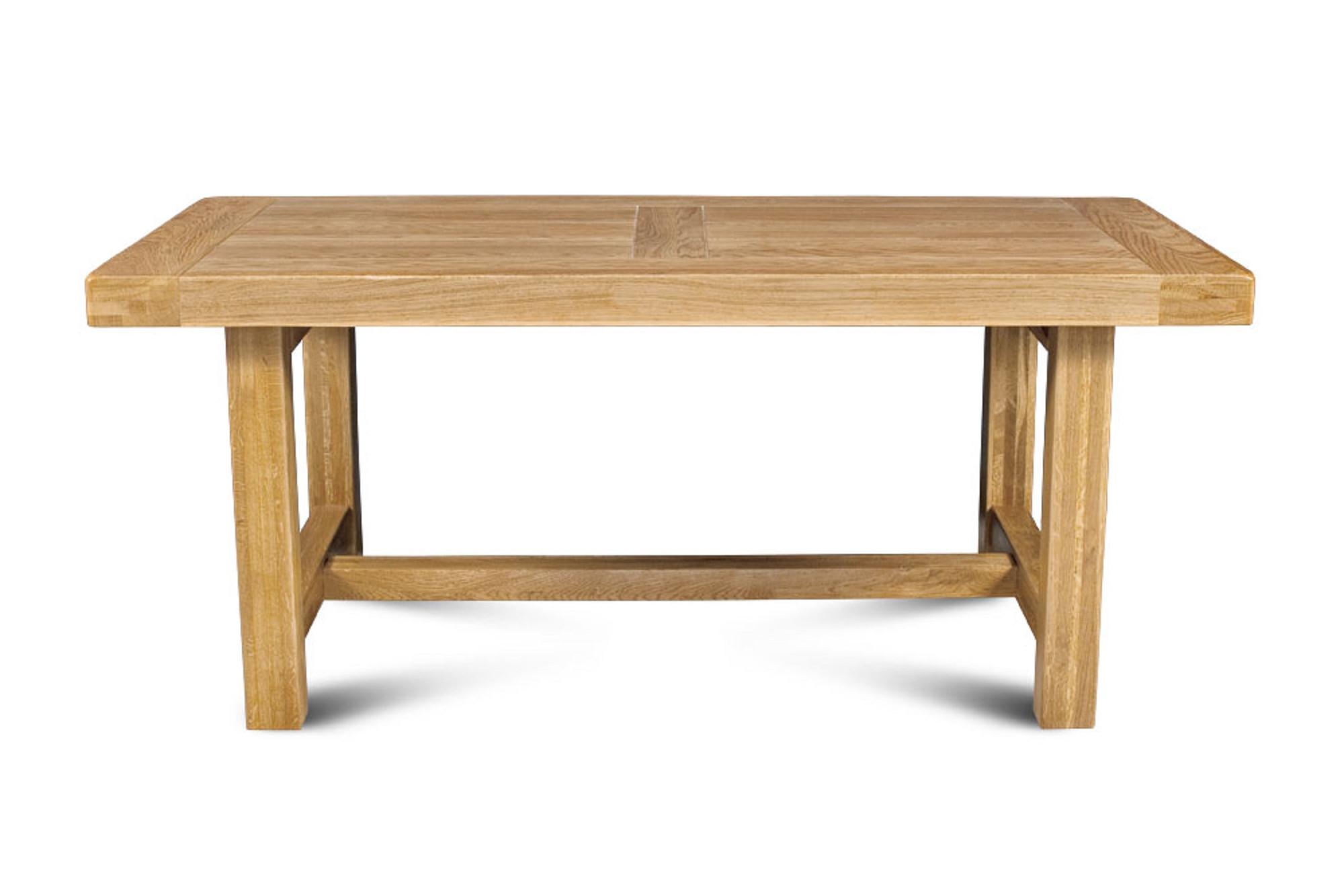 Table de ferme campagnarde en bois massif   Hellin