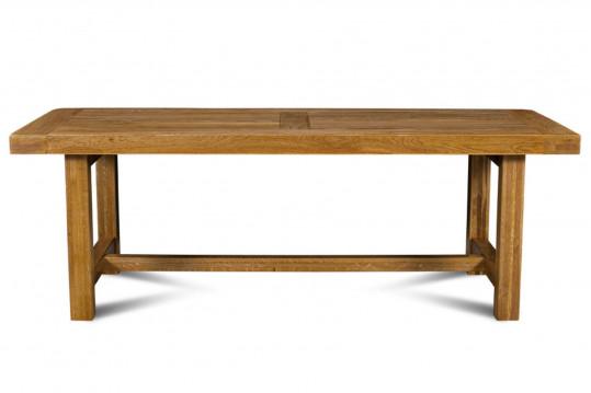 Table de ferme LA BRESSE - bois chêne massif