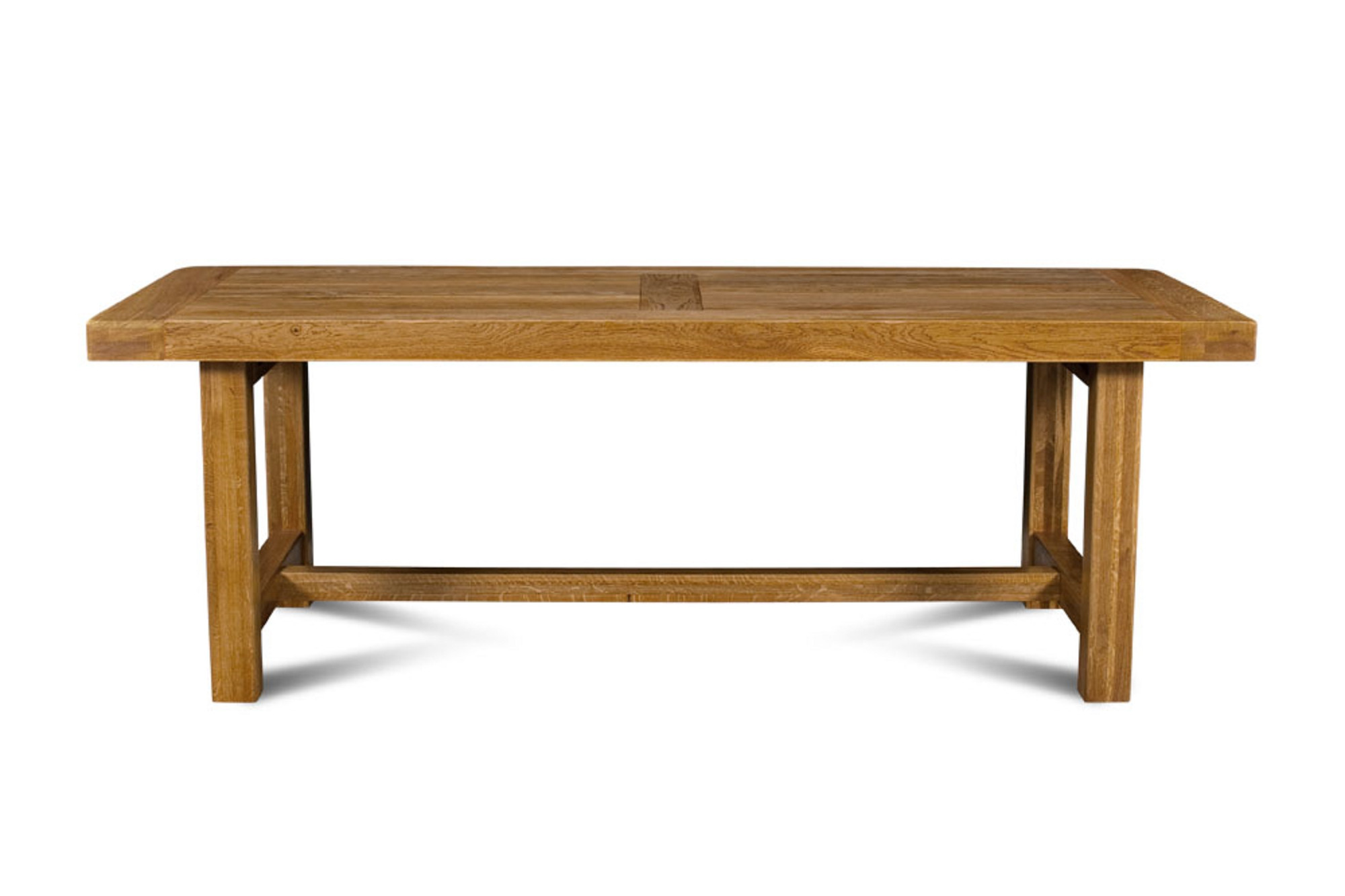 Table De Ferme En Chêne Massif La Bresse 220 X 90 Hellin
