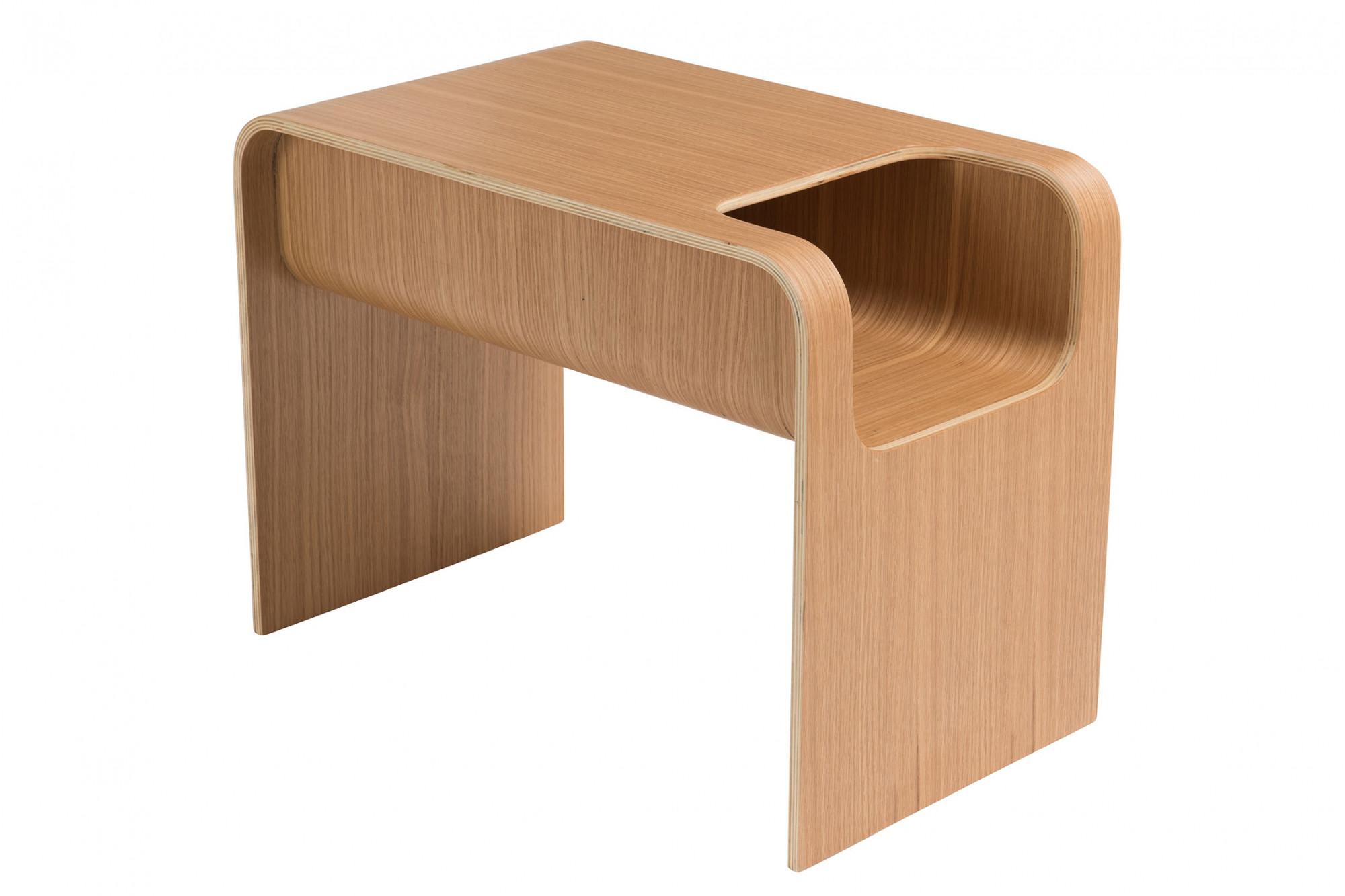nouveau produit 84966 9e9f2 Bout de canapé en bois - style contemporain - Hellin