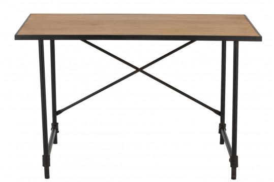 Bureau en bois et pieds métal - BROOKLYN