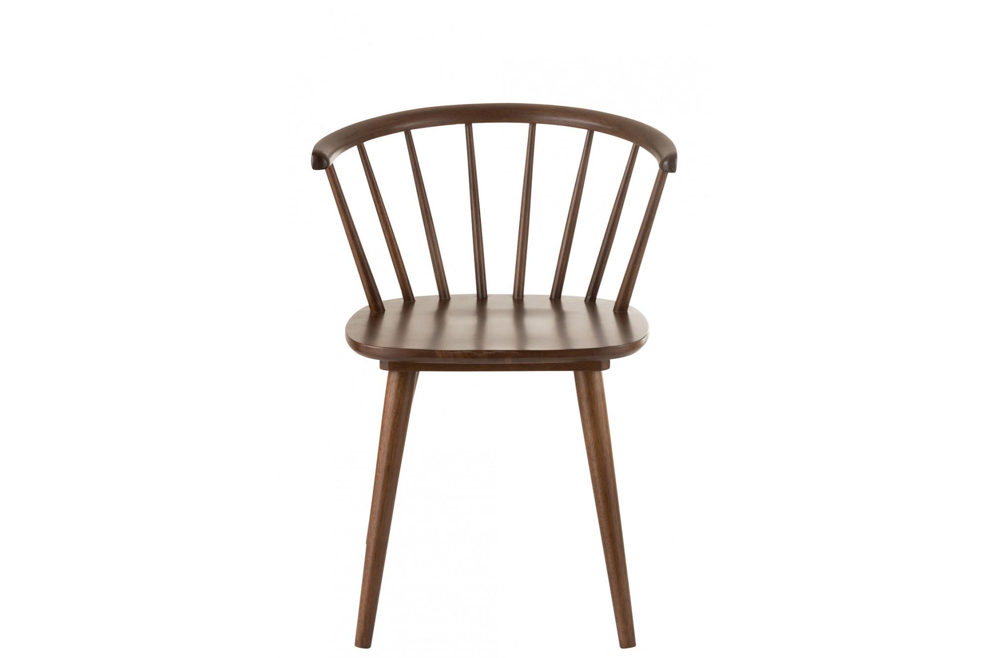 Bois Hellin Vintage RétroStyle En Chaise k8nwP0O