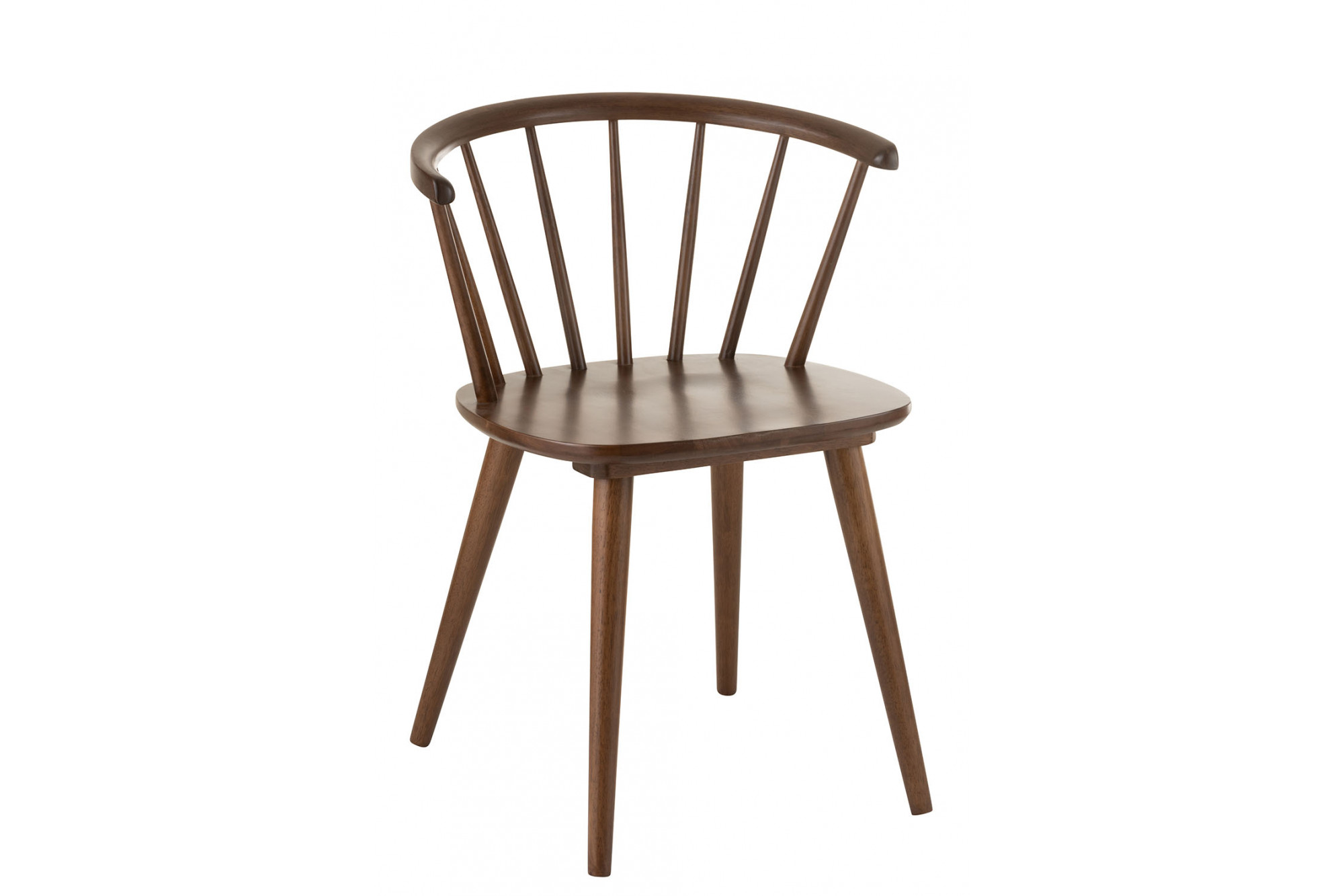 Chaise vintage en bois : scandinave / bistrot - Hellin