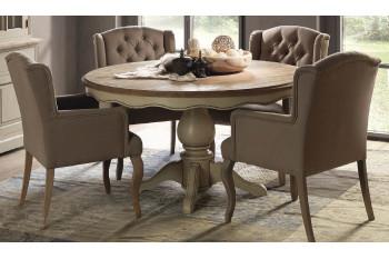Table ronde en bois - Capucine