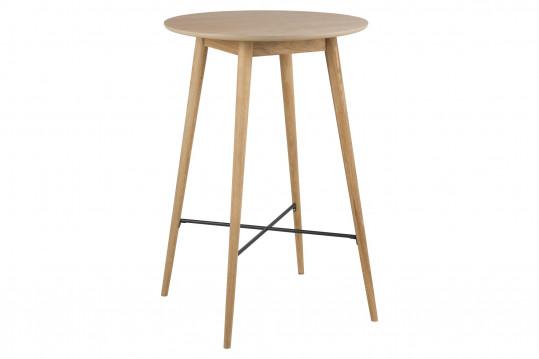 Table mange debout en bois clair - NOGANA