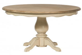 Table ronde en bois D145 - CAPUCINE