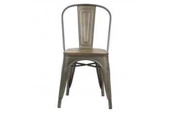 Chaises en bois et métal (Lot de 2) - LITO