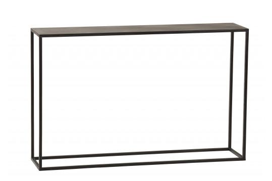 Console en bois et métal - ZELI