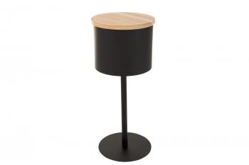 Bout de canapé en bois et métal (lot de 2) - LONE
