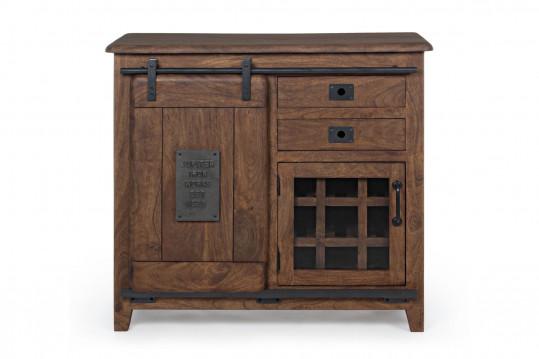 Buffet en bois 2 portes / 2 tiroirs - ESTAMINET