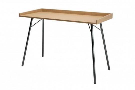 Bureau en bois et métal - BERKELEY