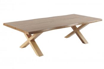 Table basse en bois chêne massif GANAK