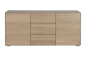 buffet en bois a la finition naturelle collection Filigrame