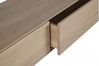 tiroir du meuble tv suspendu en bois massif Filigrame