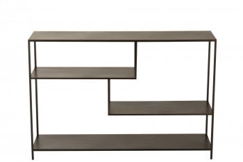 Console moderne en métal déstructurée - RIKI