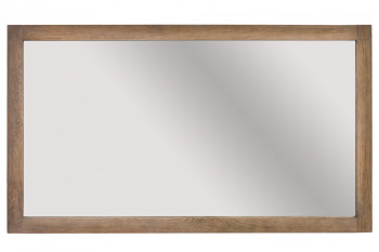 Miroir de salle de bain en chêne vieilli - ROME