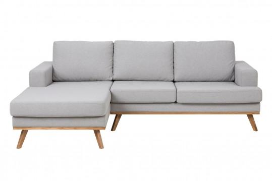 Canapé d'angle à gauche en tissus - SWEDISH