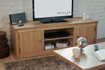 Meuble TV en chêne victoria