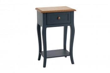 Table de nuit en bois 1 tiroir - LOIRE