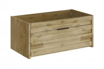 meuble sous vasque en bois pour simple vasque 80 cm