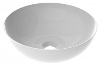 Vasque à poser ronde en céramique type bol 40 - BOREAL