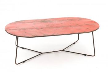 Table basse en métal recyclé - CANISTER