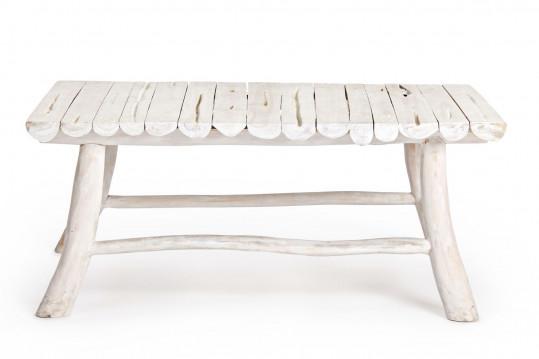 Table basse rectangulaire en teck L90 - SAYELL