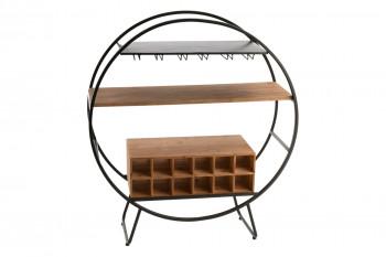 Bar en bois et métal industriel - BILBAO