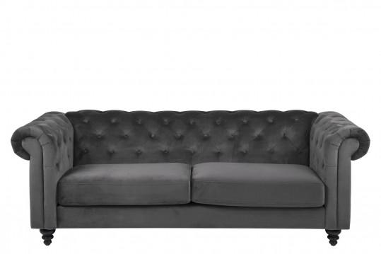 Canapé 3 places en tissus - CHARLESTON