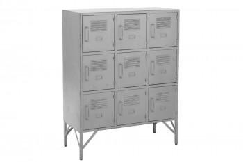 Armoire industrielle 9 casiers en métal - ERNESTINE