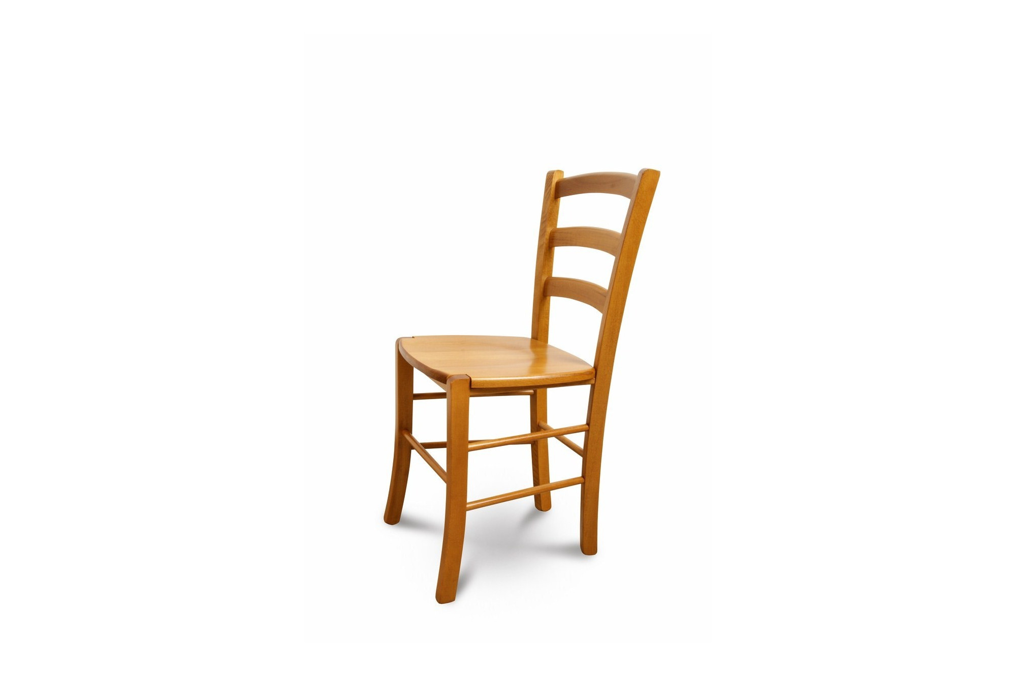 chaise en bois massif tina lot de deux hellin. Black Bedroom Furniture Sets. Home Design Ideas