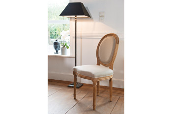 Chaise en bois Médaillon Victoria