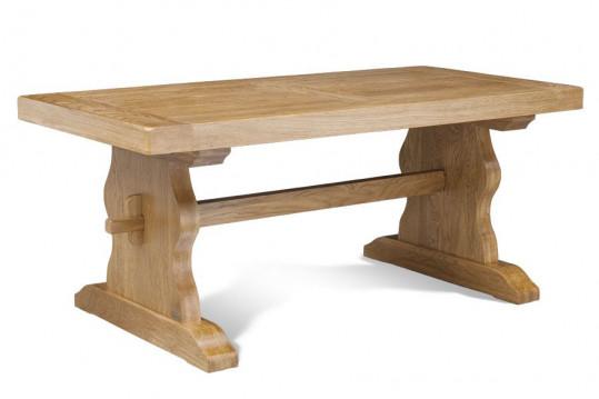 OCCASION Table monastère / Longueur 180 cm chêne clair