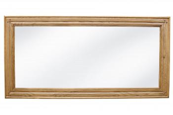 Miroir pour bahut 4 portes La BRESSE - chêne clair