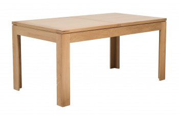 Table rectangulaire extensible BOSTON L160/240 en chêne clair