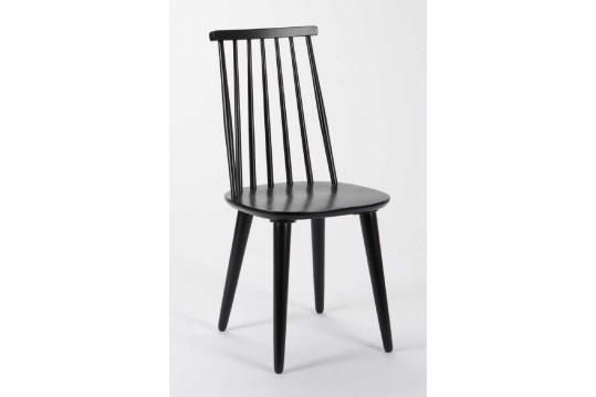 Lot de 2 chaises en bois massif TONELO