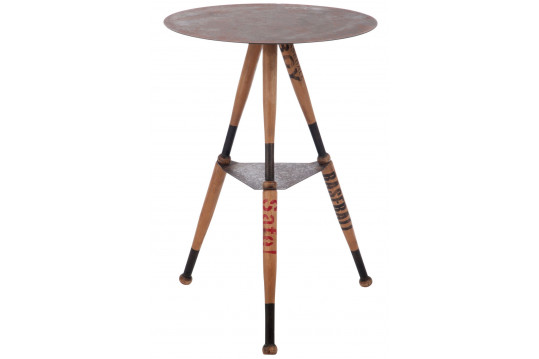 TABLE HAUTE BASEBALL RONDE